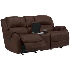 Flexsteel Latitudes -Pure Comfort Dual Gliding Reclining Love Seat