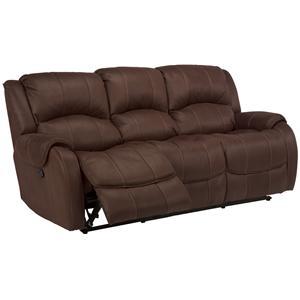 Flexsteel Latitudes -Pure Comfort Double Reclining Sofa