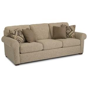 "93"" Three-Cushion Sofa"