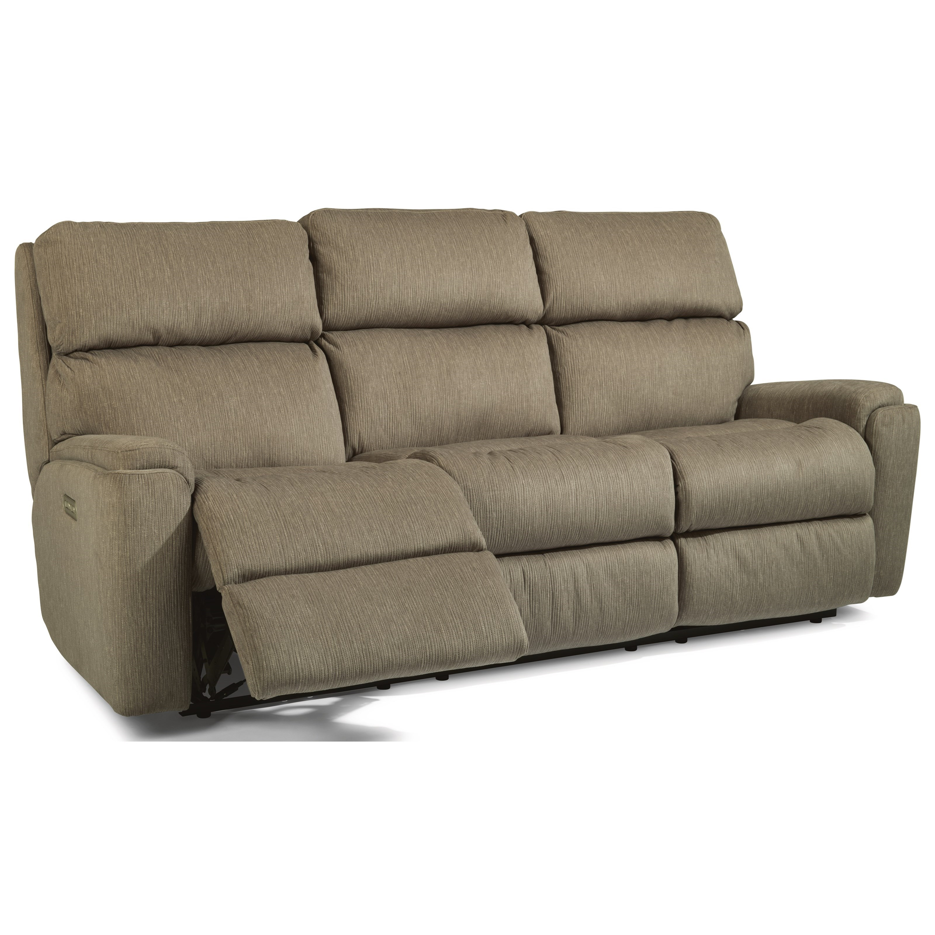 Flexsteel Sofa Bed Mattress: Flexsteel Rio Casual Power Reclining Sofa