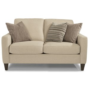 Flexsteel River Contemporary Loveseat