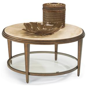 Flexsteel Seville Round Cocktail Table