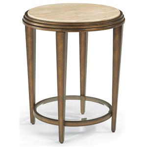 Flexsteel Seville Chair Side Table