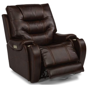 Terrific Flexsteel Leather And Faux Leather Furniture In Belpre And Theyellowbook Wood Chair Design Ideas Theyellowbookinfo