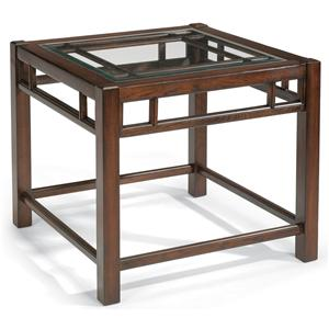Flexsteel Sonoma Square End Table