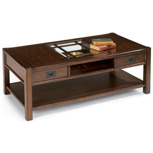 Flexsteel Sonoma Rectangular Cocktail Table