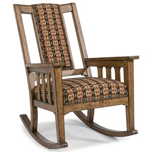 Flexsteel Sonora Upholstered Rocking Chair
