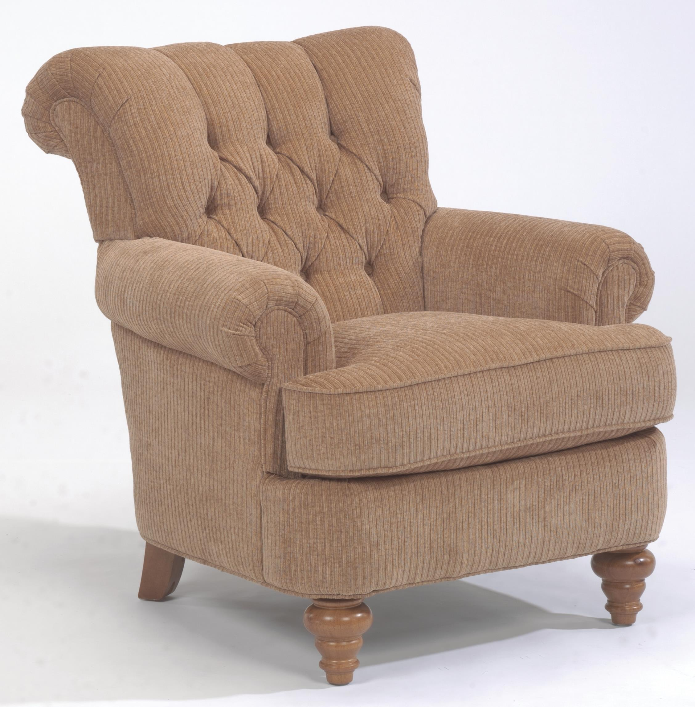 Exceptional South Hampton Tufted Back Chair By Flexsteel