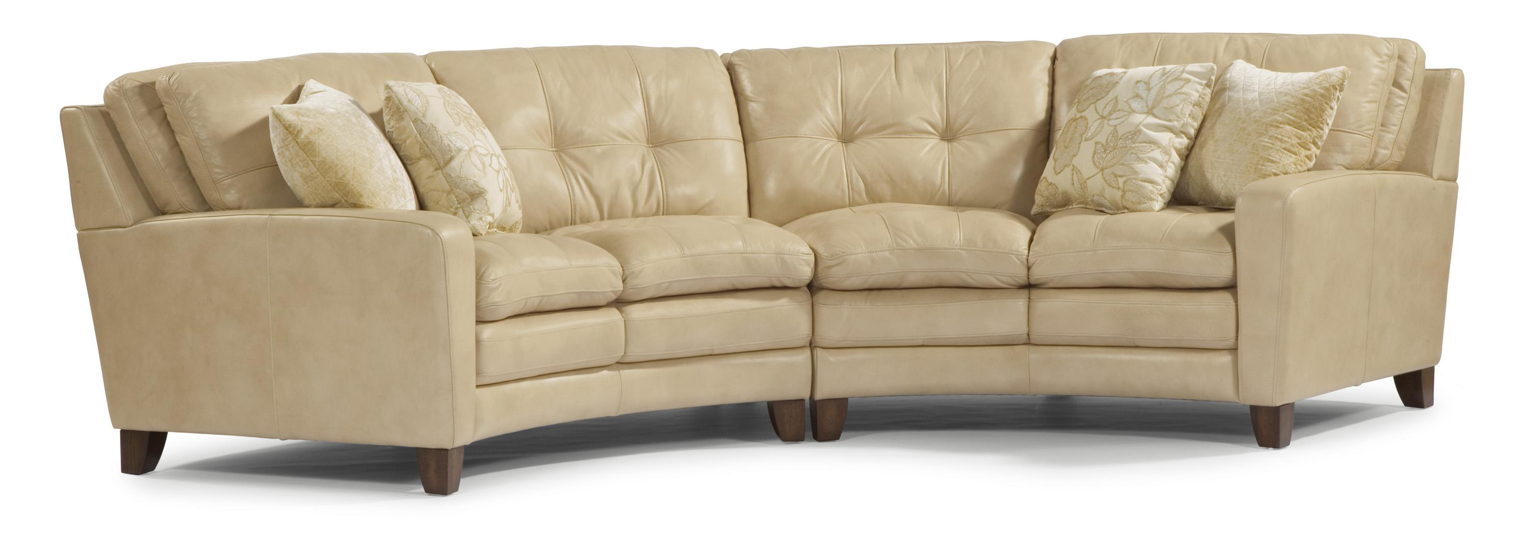 Flexsteel Latitudes South Street Rounded Sectional Sofa With
