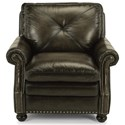 Flexsteel Latitudes-Suffolk Upholstered Leather Chair - Item Number: 1741-10-521-04