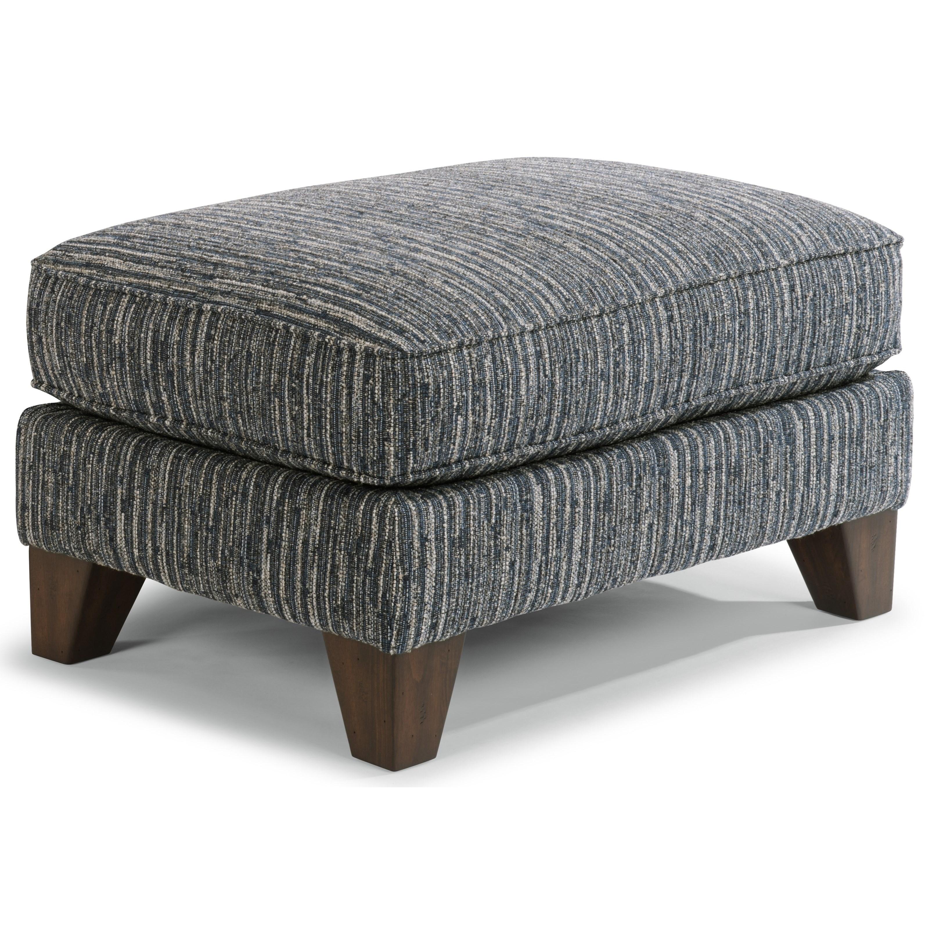 Sullivan Ottoman by Flexsteel at Mueller Furniture