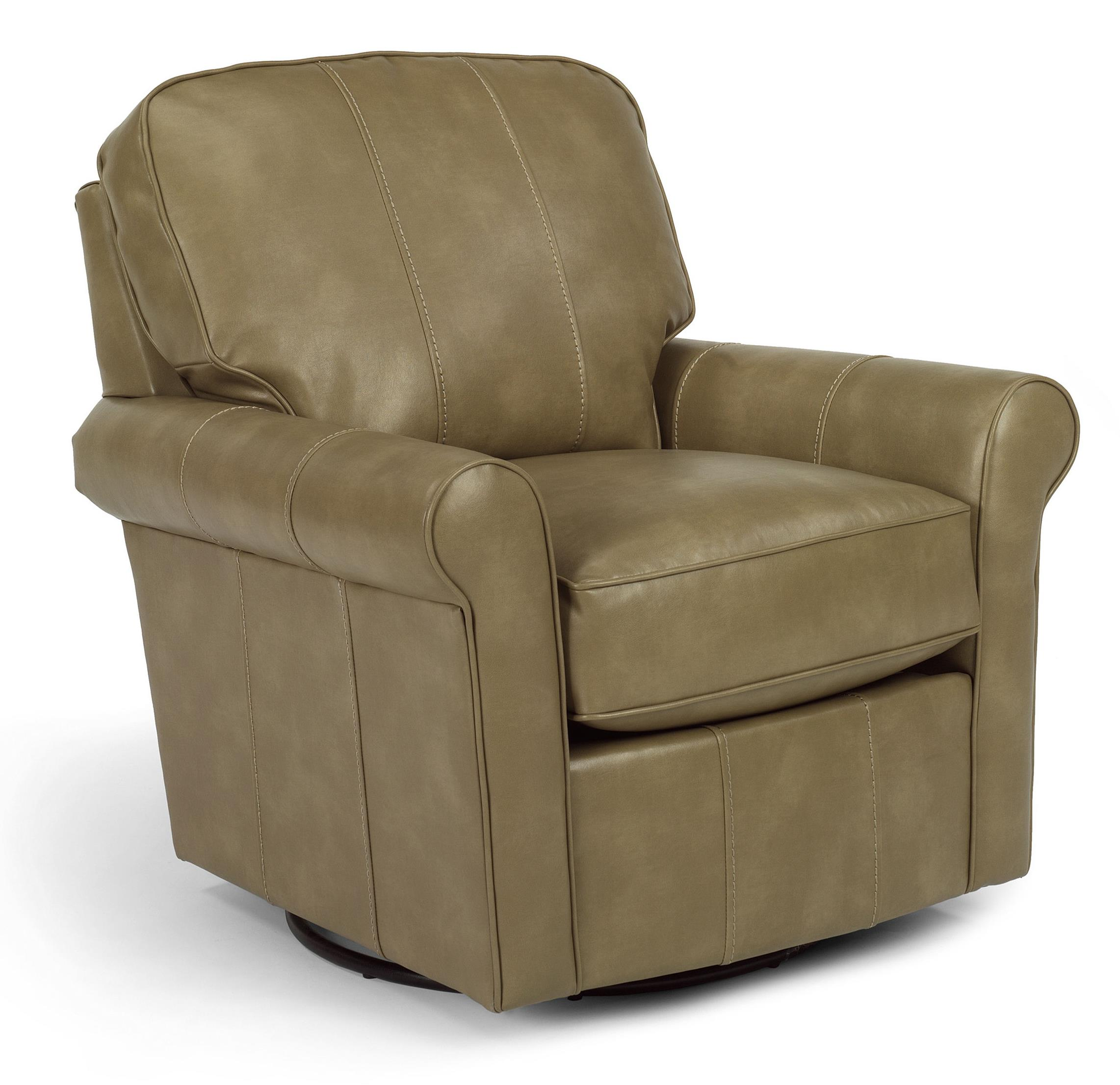 Flexsteel Swivel Glider Collection Transitional Parkway
