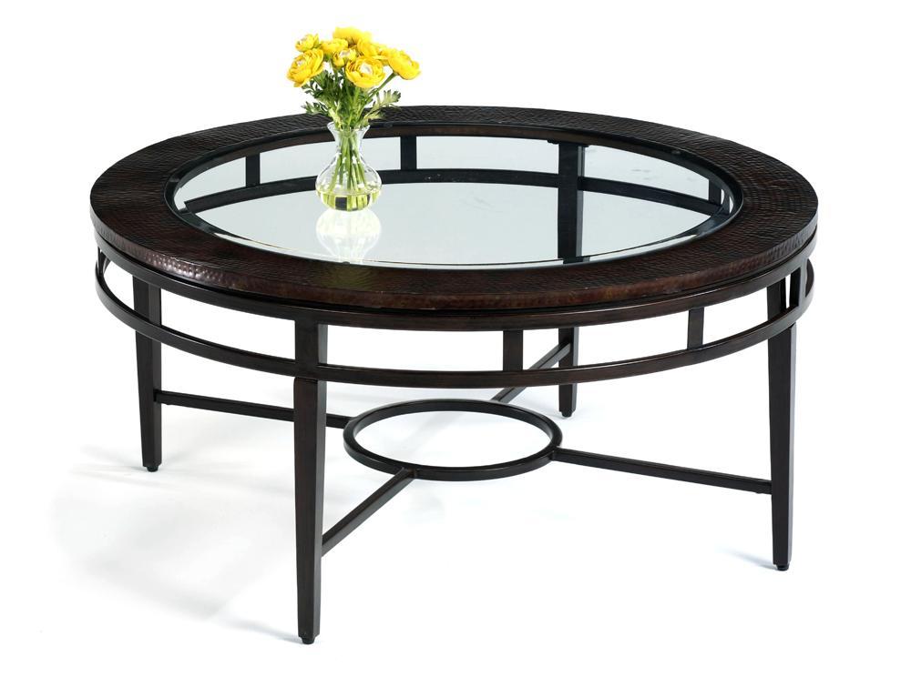 Flexsteel Symphony Round Cocktail Table - Item Number: 6594-034