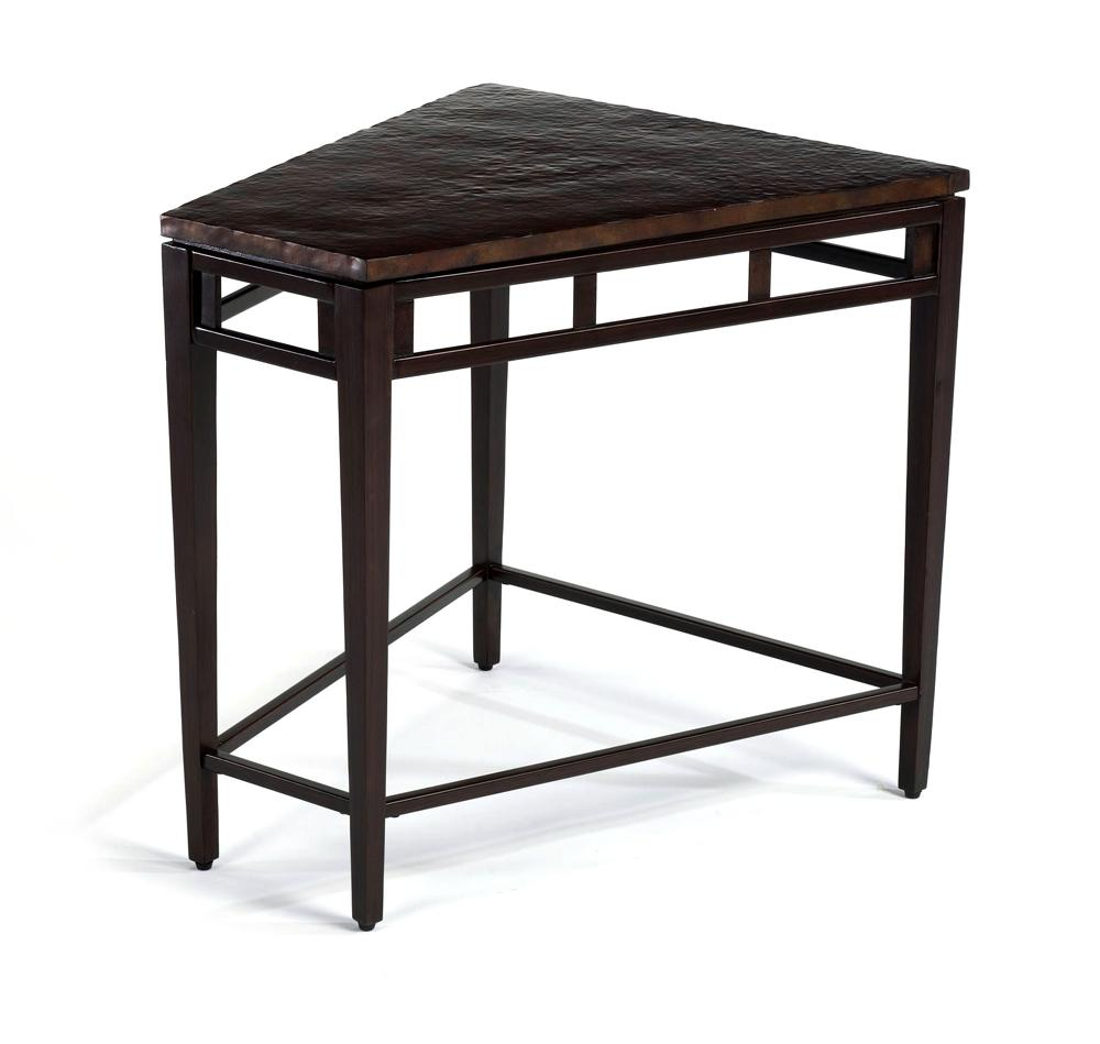 High Quality Symphony Entertainment Wedge Table By Flexsteel