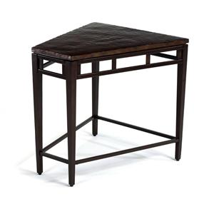 Flexsteel Symphony Entertainment Wedge Table
