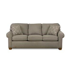 Flexsteel Thornton Stationary Upholstered Sofa | Ruby Gordon Home | Sofas