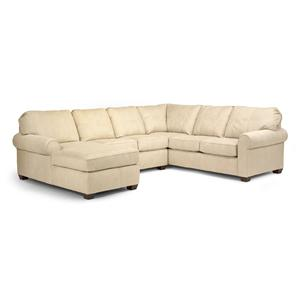 Flexsteel Thornton 3 Piece Sectional
