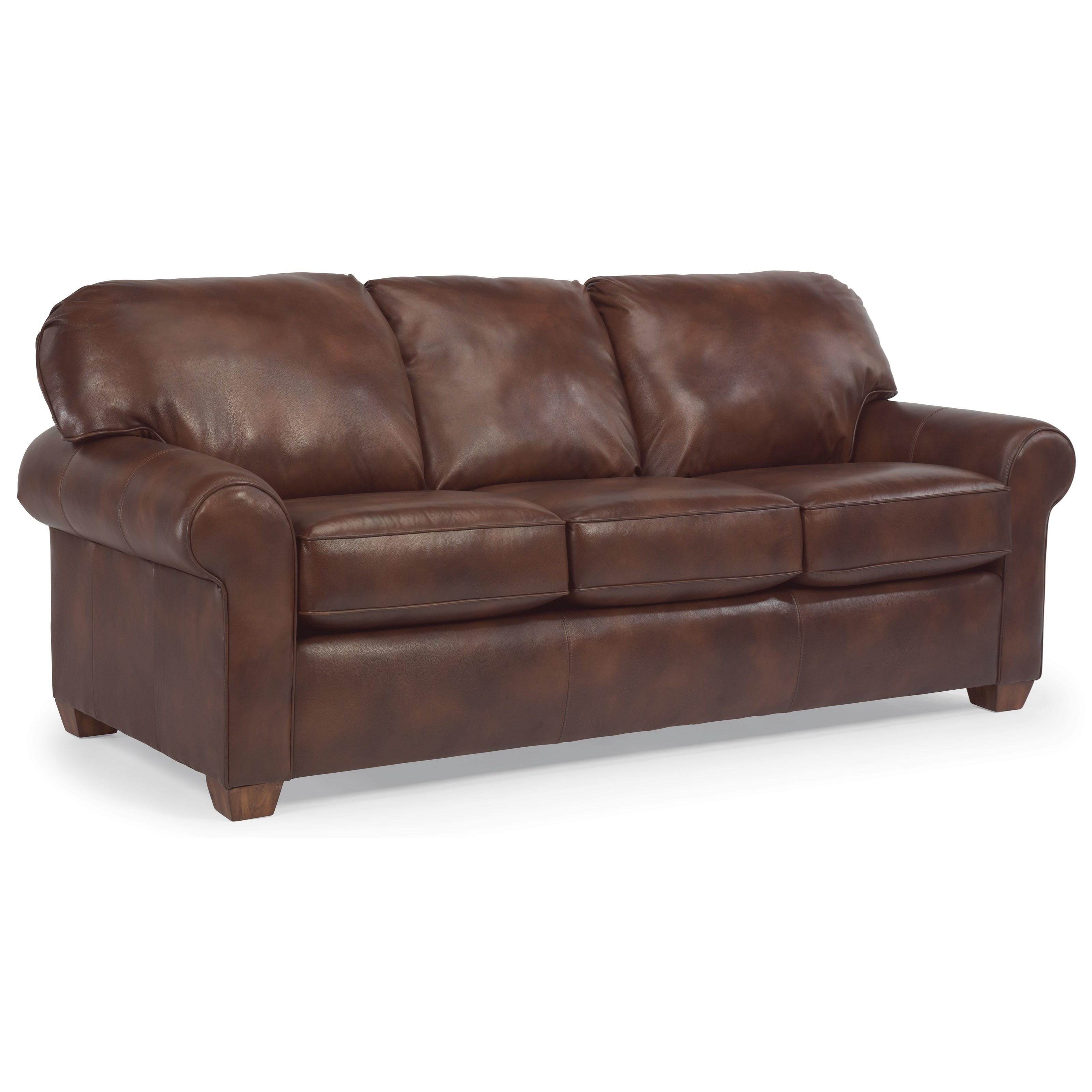 Flexsteel Wrangler Sofa: Flexsteel Thornton 3535-44 Queen Sleeper Sofa