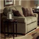 Flexsteel Thornton  Upholstered Love Seat with Rolled Arms - 5535-20