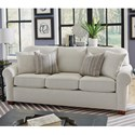 Flexsteel Thornton  Stationary Sofa - Item Number: 5535-31-296-11
