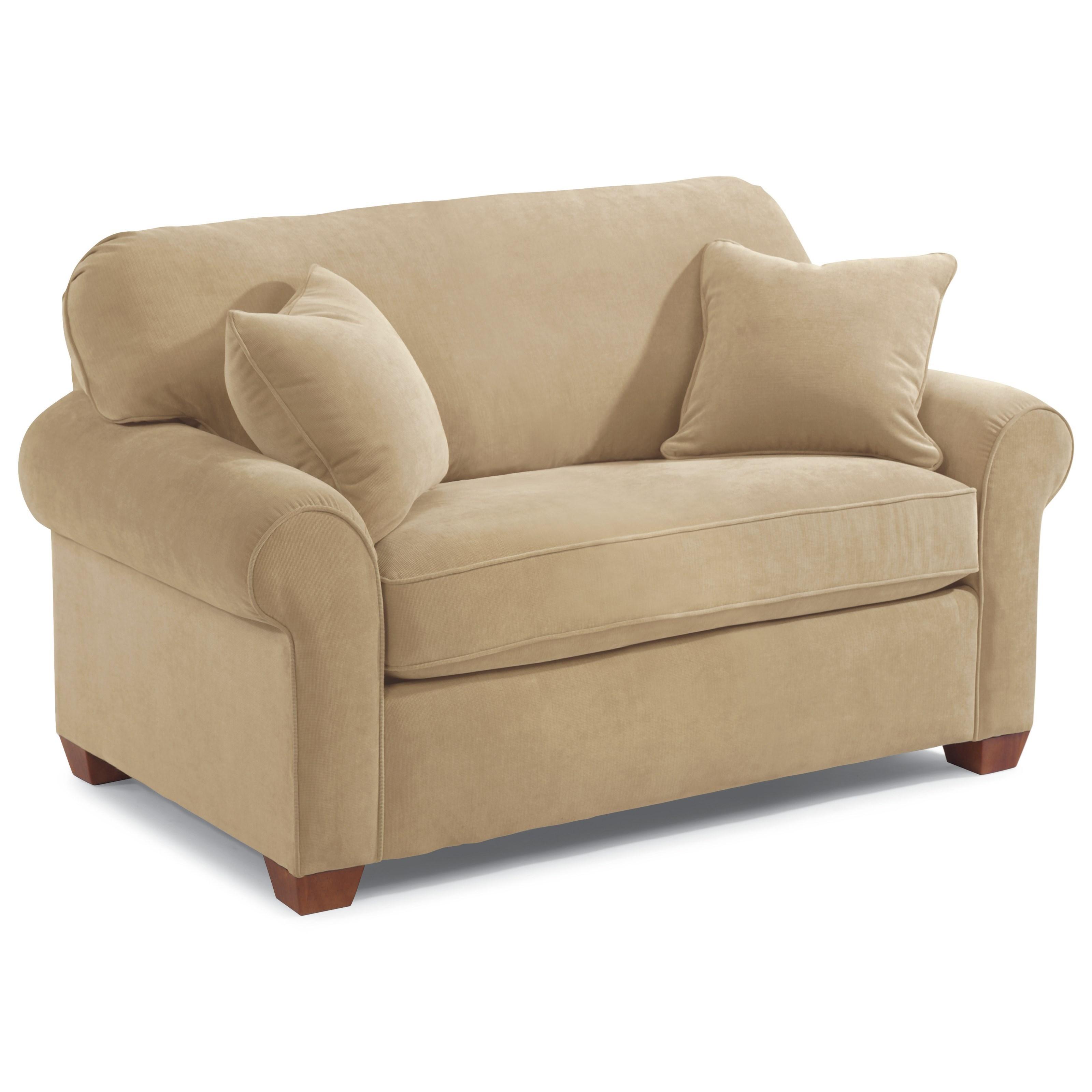 Flexsteel Paige Twin Sleeper Sofa   Crowley Furniture ...