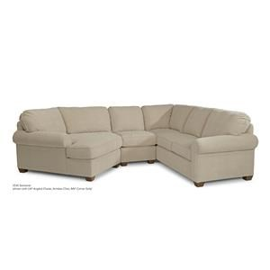 Flexsteel Thornton 3-Piece Sectional