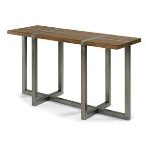 Flexsteel Trestle Sofa Table