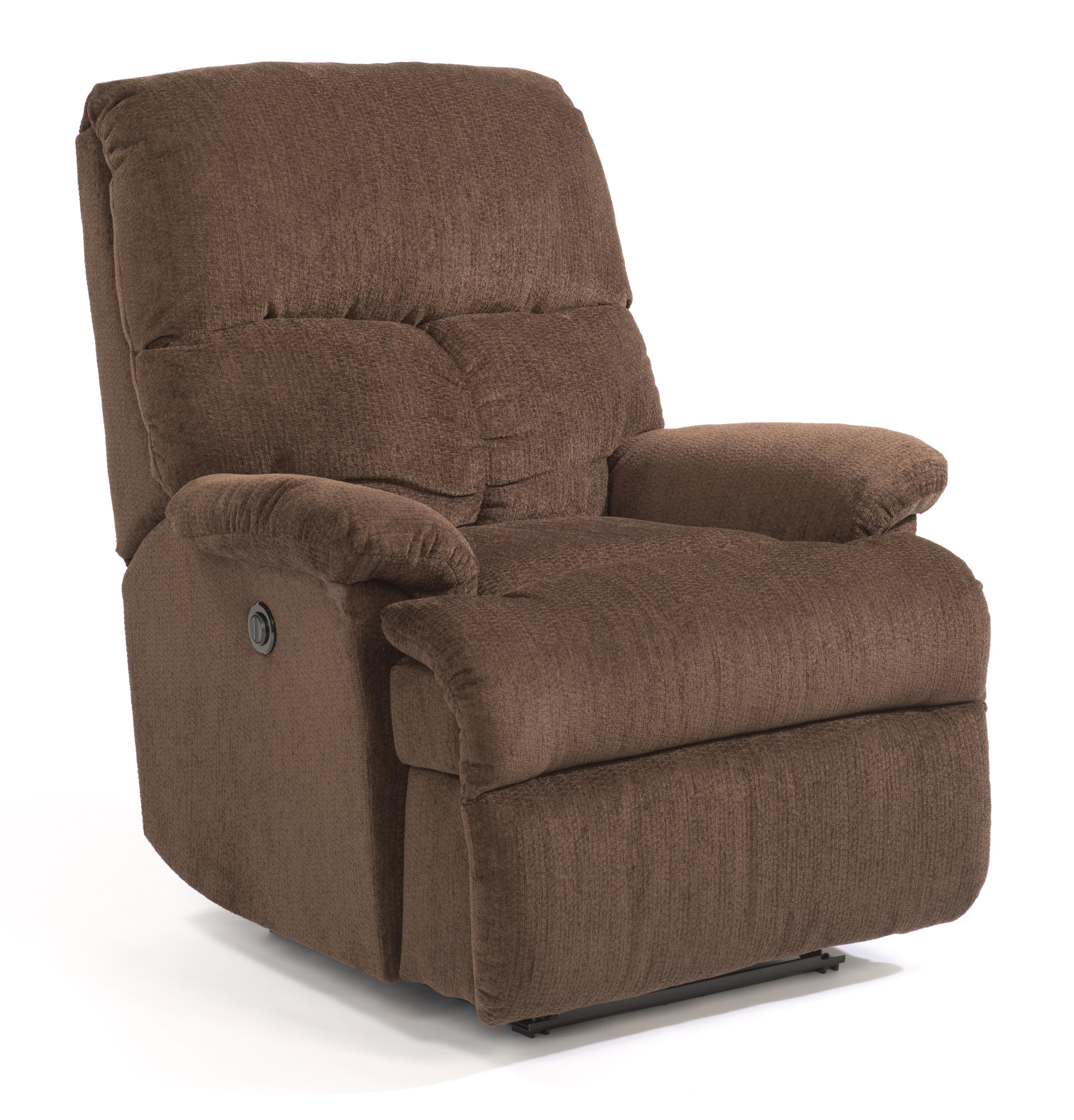 Flexsteel Triton Power Wall Recliner With Chaise Seating
