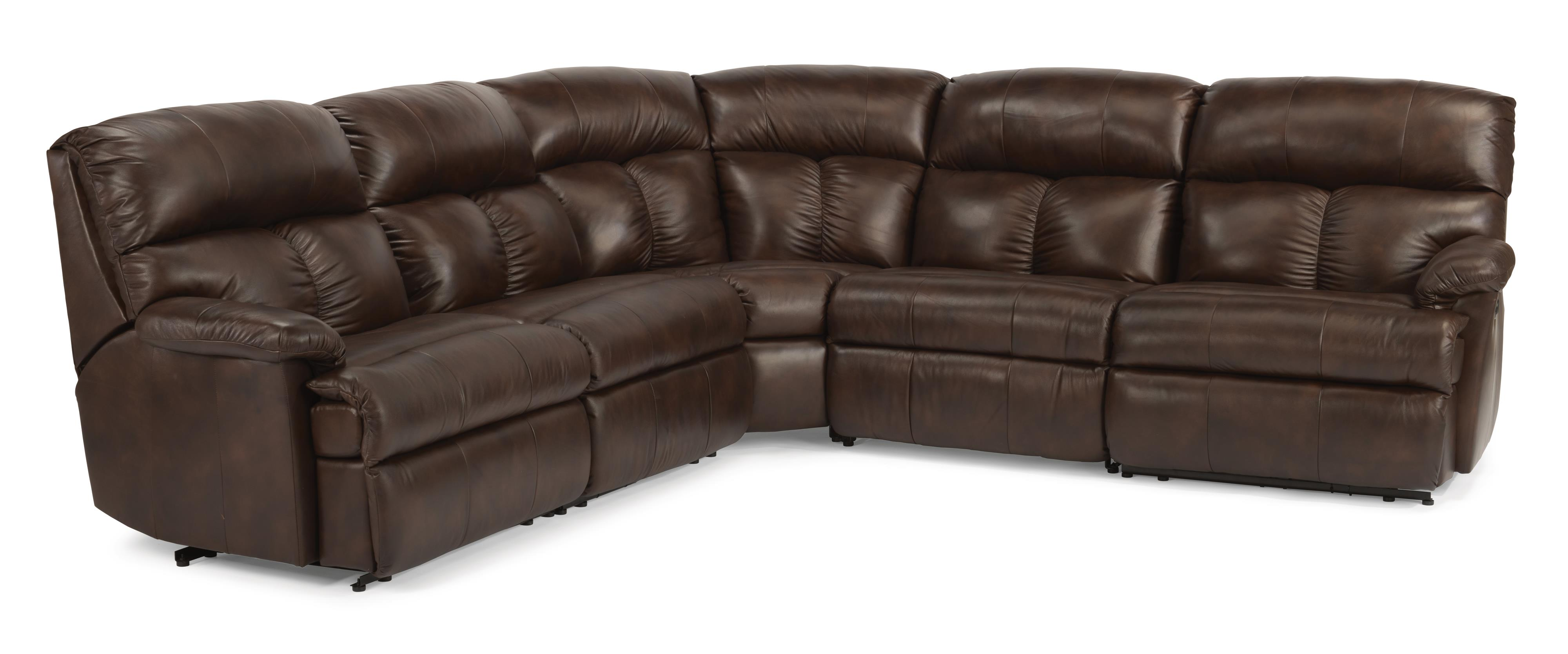 Flexsteel Triton Reclining Sofa Sectional Dunk Amp Bright