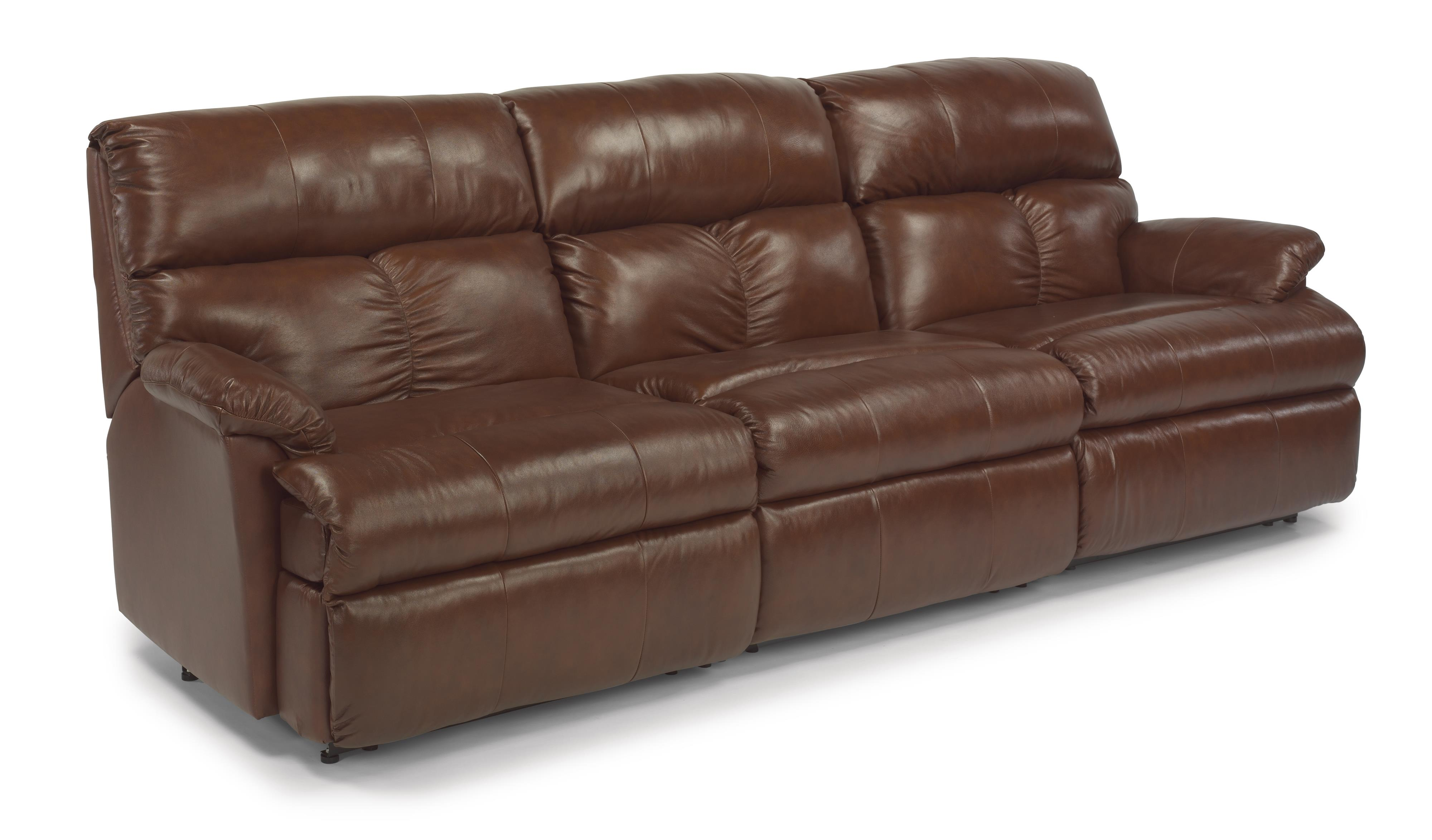 Flexsteel Triton Three Piece Reclining Sectional Sofa With