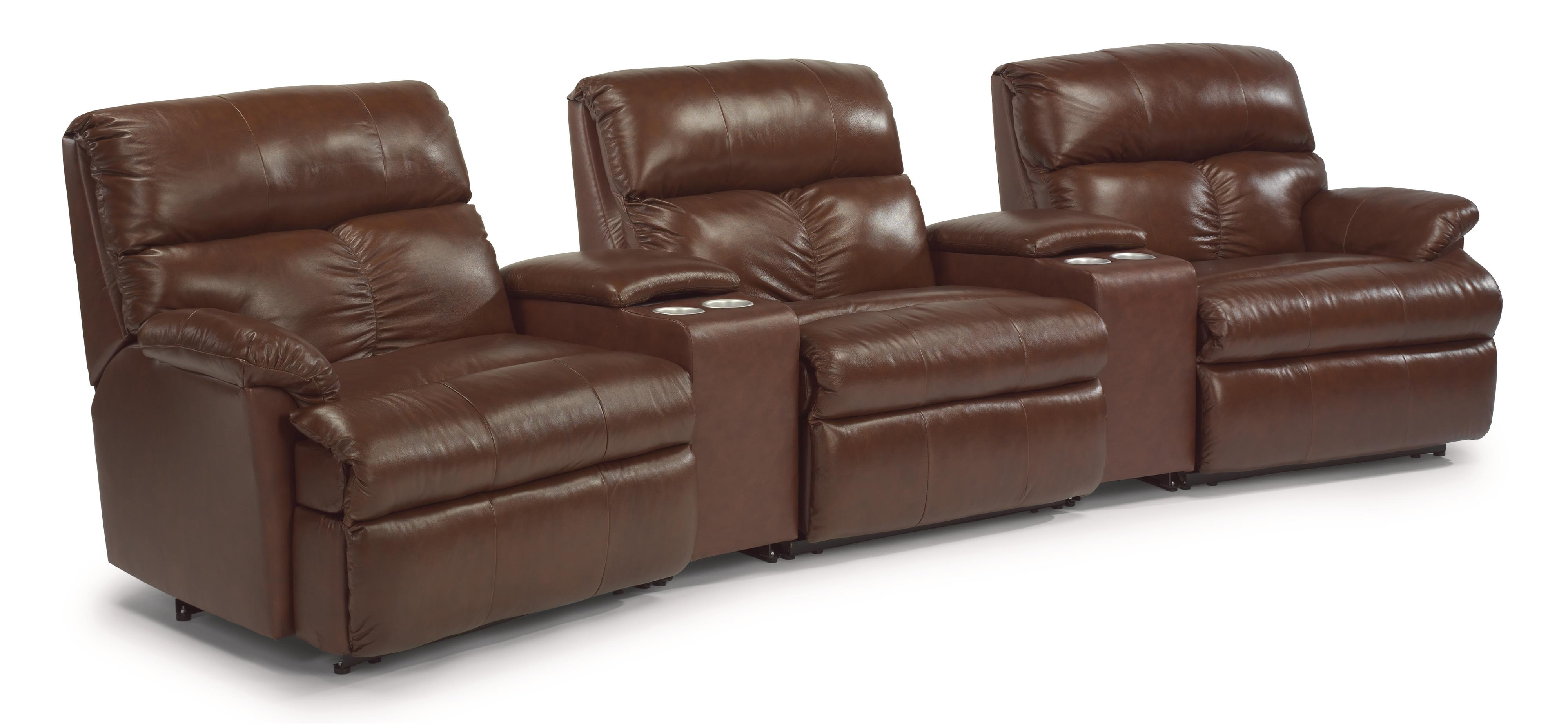 Flexsteel Triton Five Piece Power Reclining Home Theater