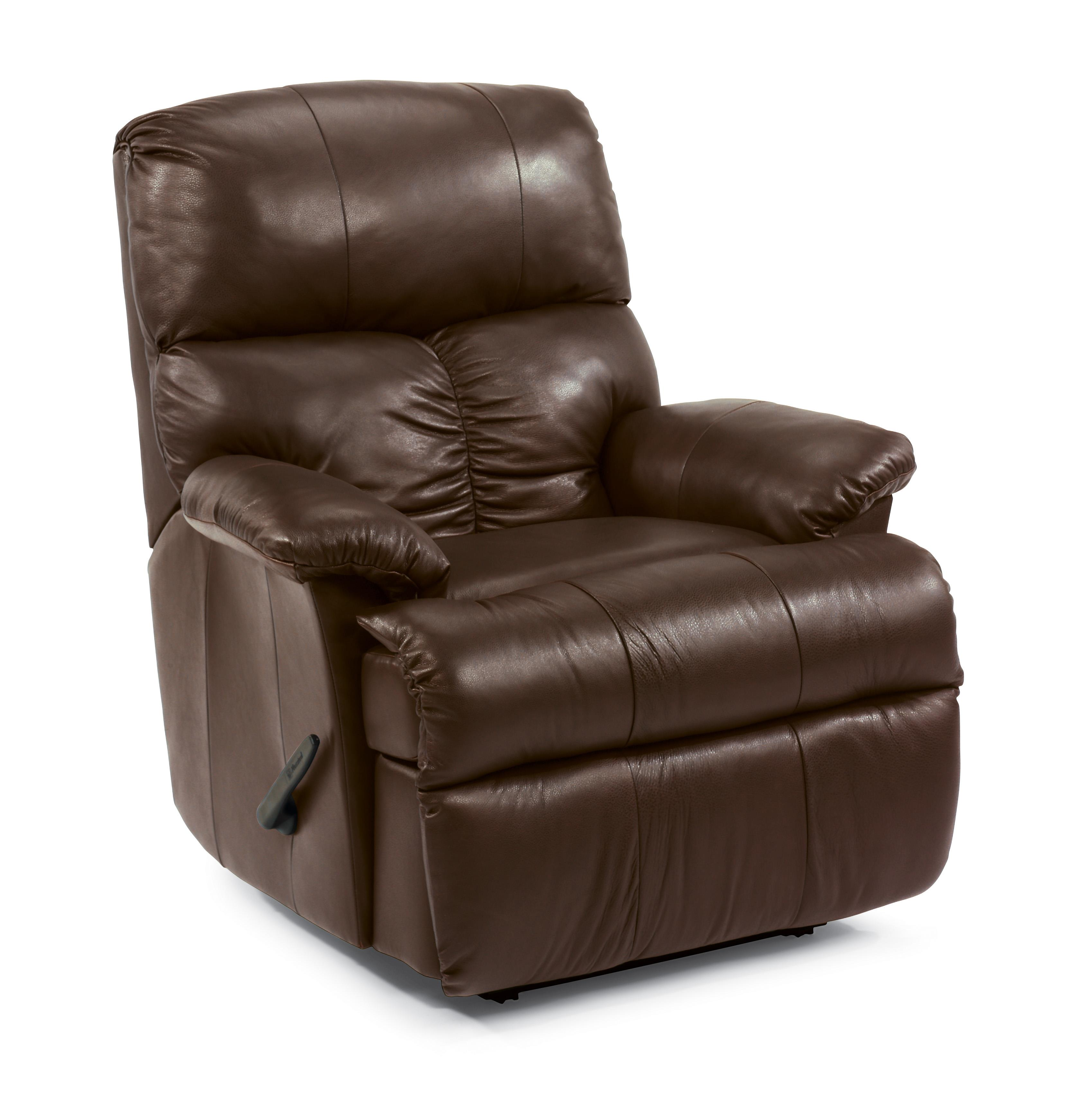 Flexsteel Triton Leather Wall Recliner Godby Home Furnishings Recliners
