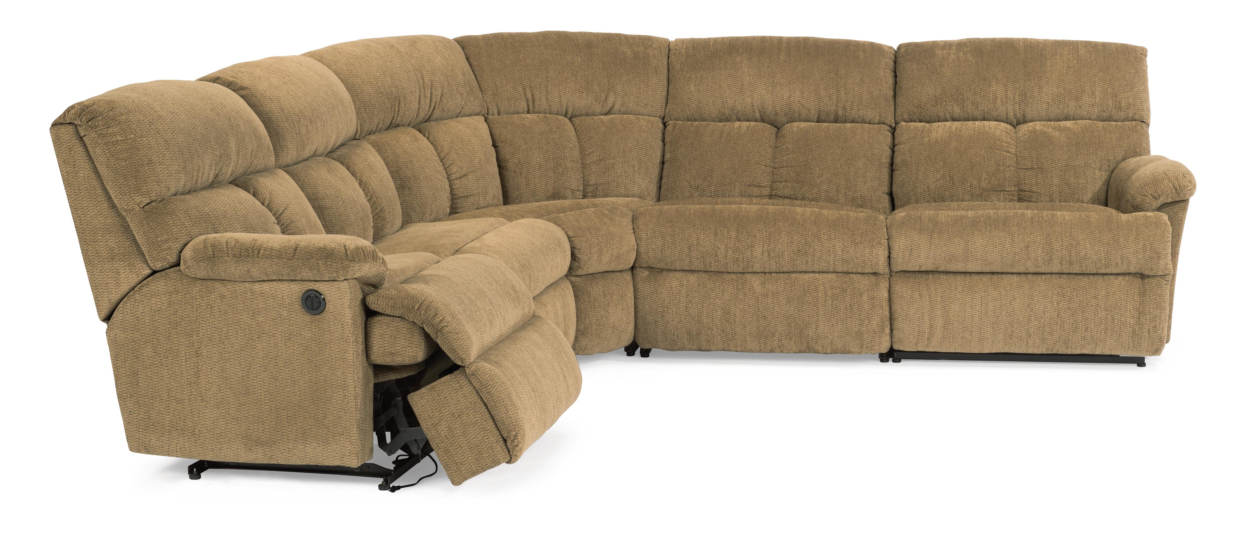 Flexsteel Triton Reclining Sofa Sectional AHFA Reclining
