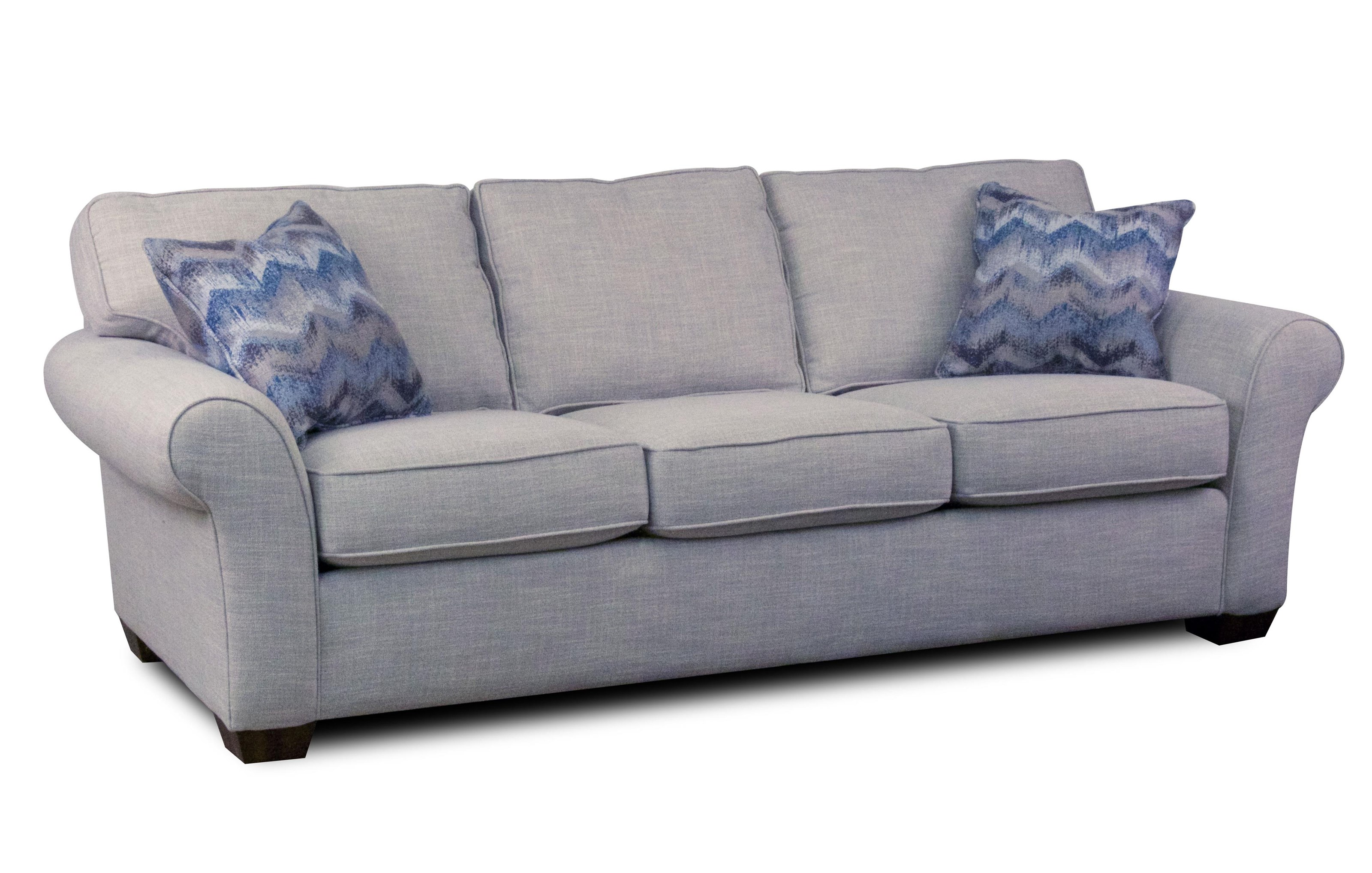 Flexsteel Vail 91 Vail Three Cushion Sofa Ruby Gordon Furniture Mattresses Sofas