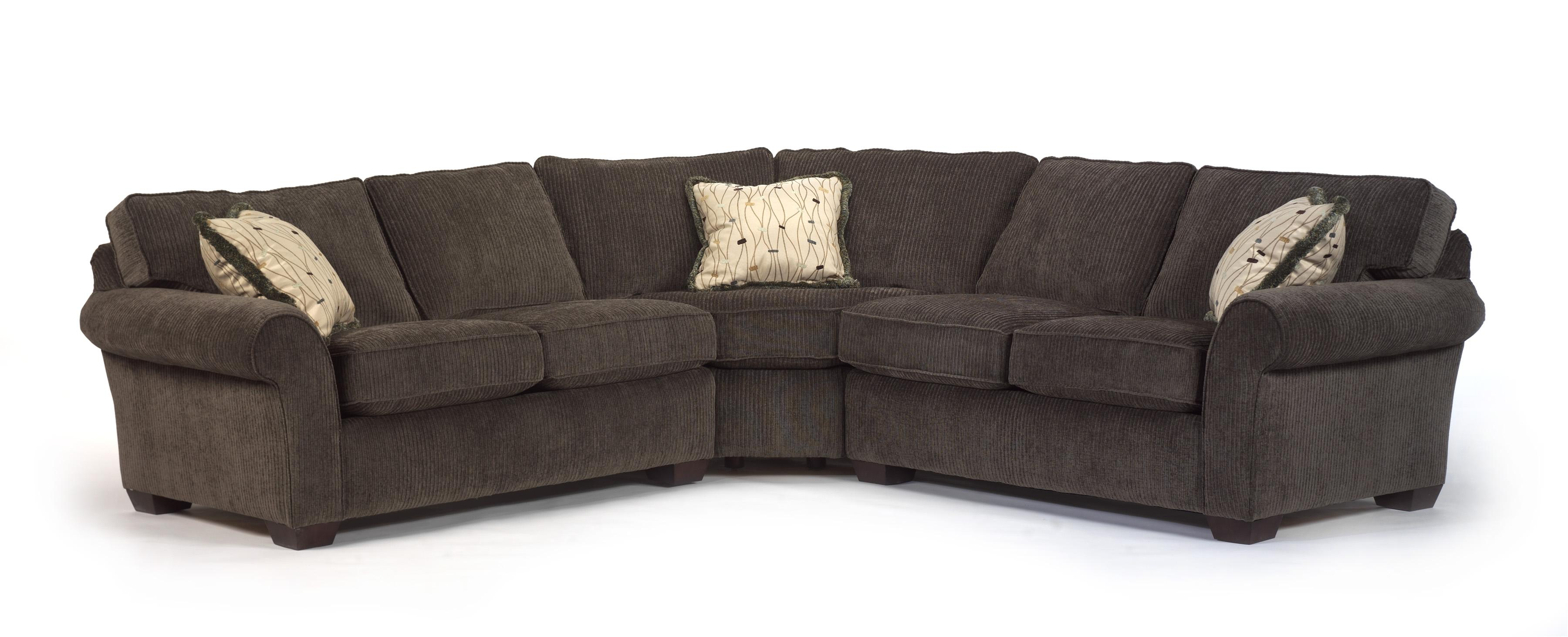 Flexsteel Vail Corner Sectional Sofa Wayside Furniture Sofa