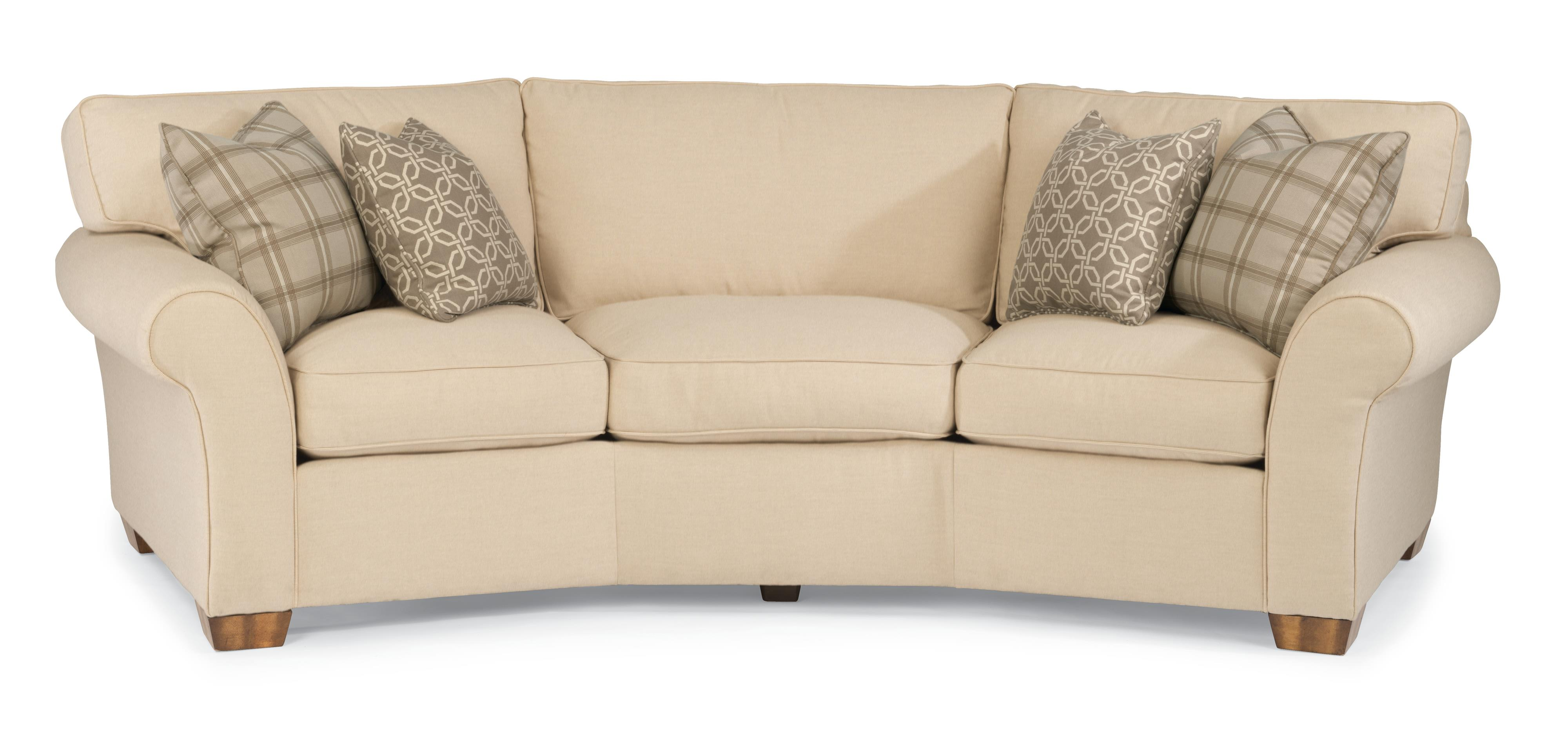 "Flexsteel Vail 107"" Vail Conversation Sofa Wayside Furniture"