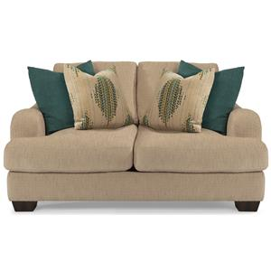 Flexsteel Vanessa Stationary Love Seat