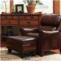 Flexsteel Latitudes - Wayne Ottoman - Shown with Chair.