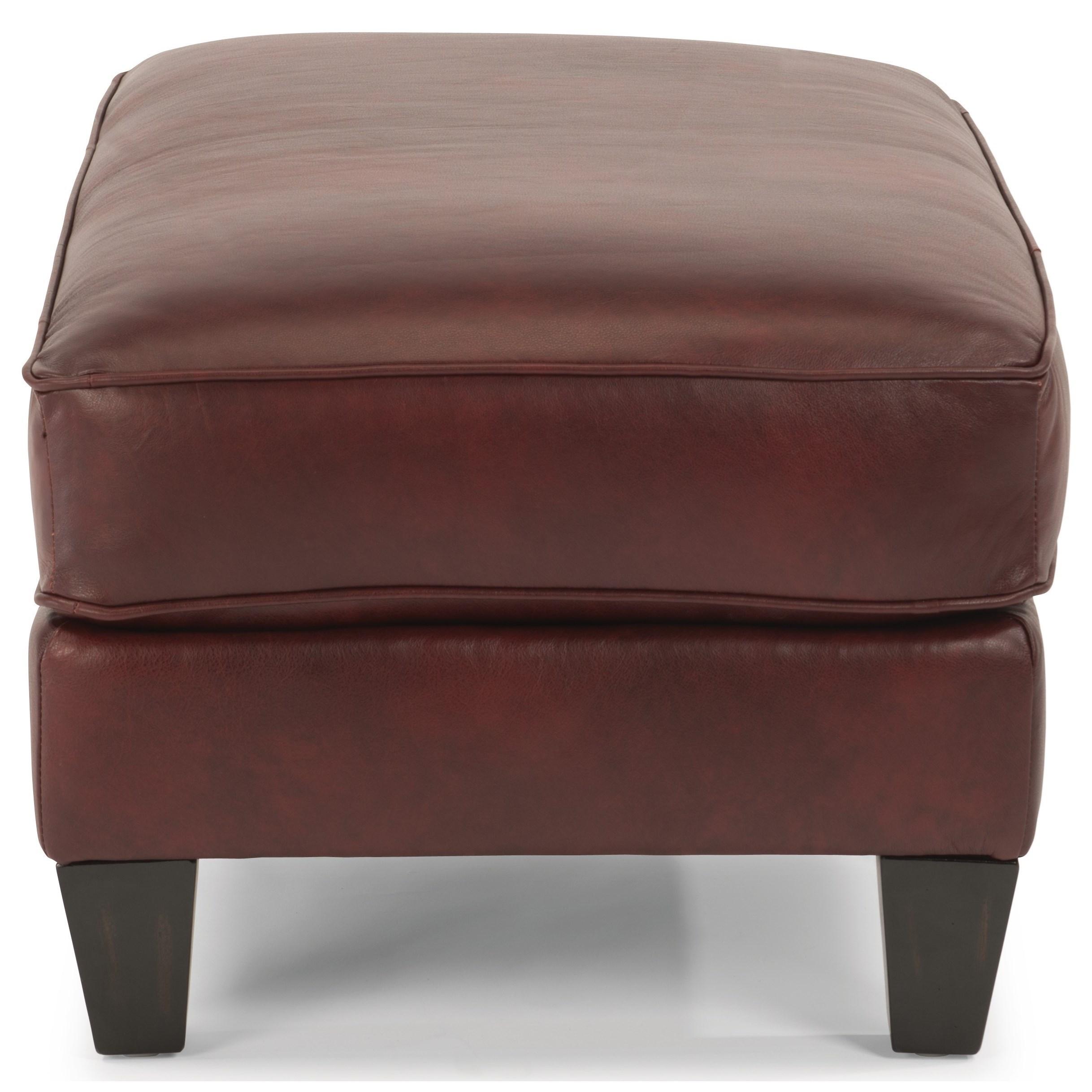 Flexsteel Westside Sofa Reviews: Flexsteel Westside Cocktail Ottoman With Tapered Legs