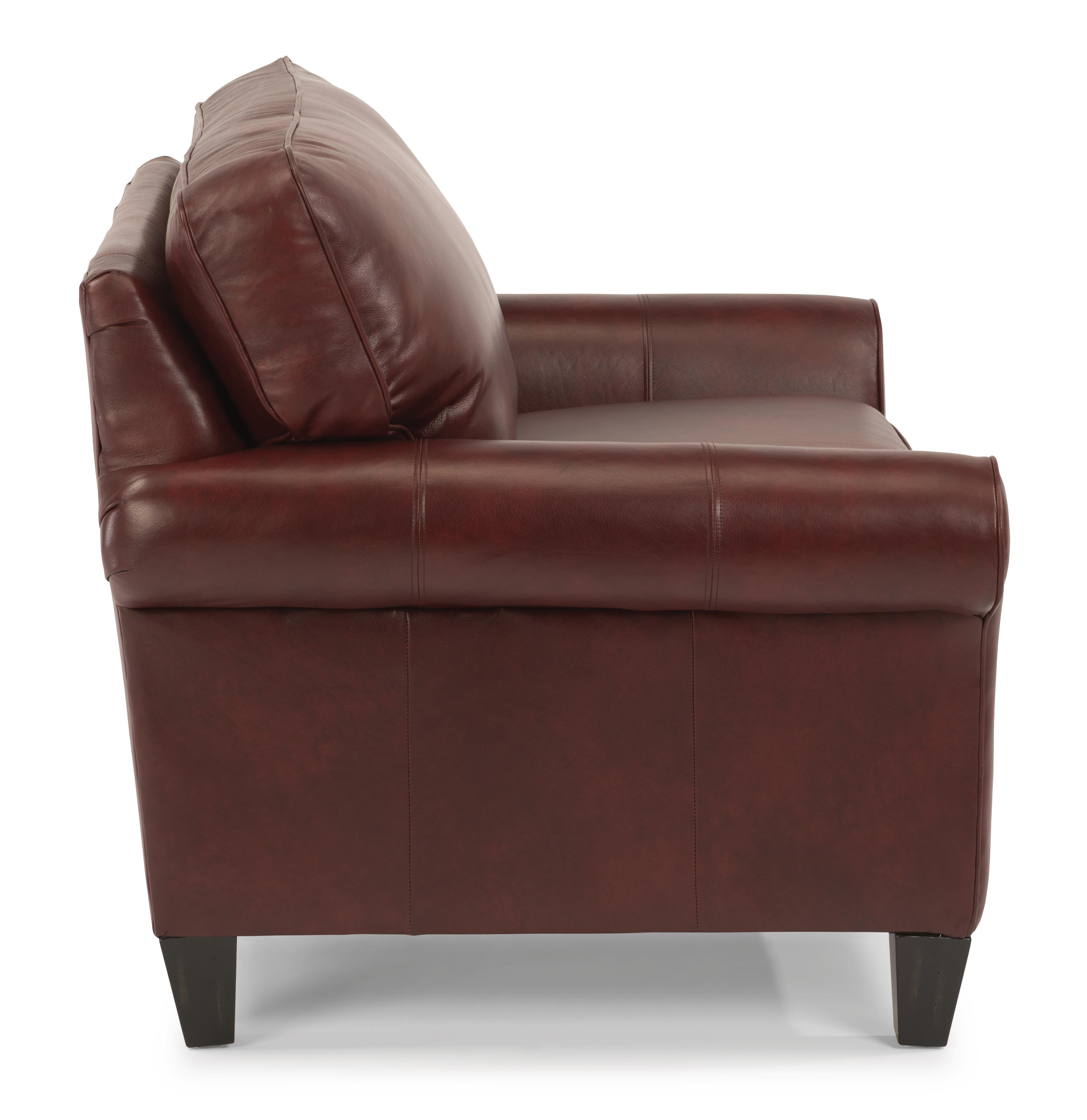 Flexsteel Westside Sofa Reviews: Flexsteel Westside Casual Style Chair And 1/2 With Rolled