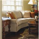 Flexsteel Westside Casual Conversation Sofa - Shown in Living Room Setting