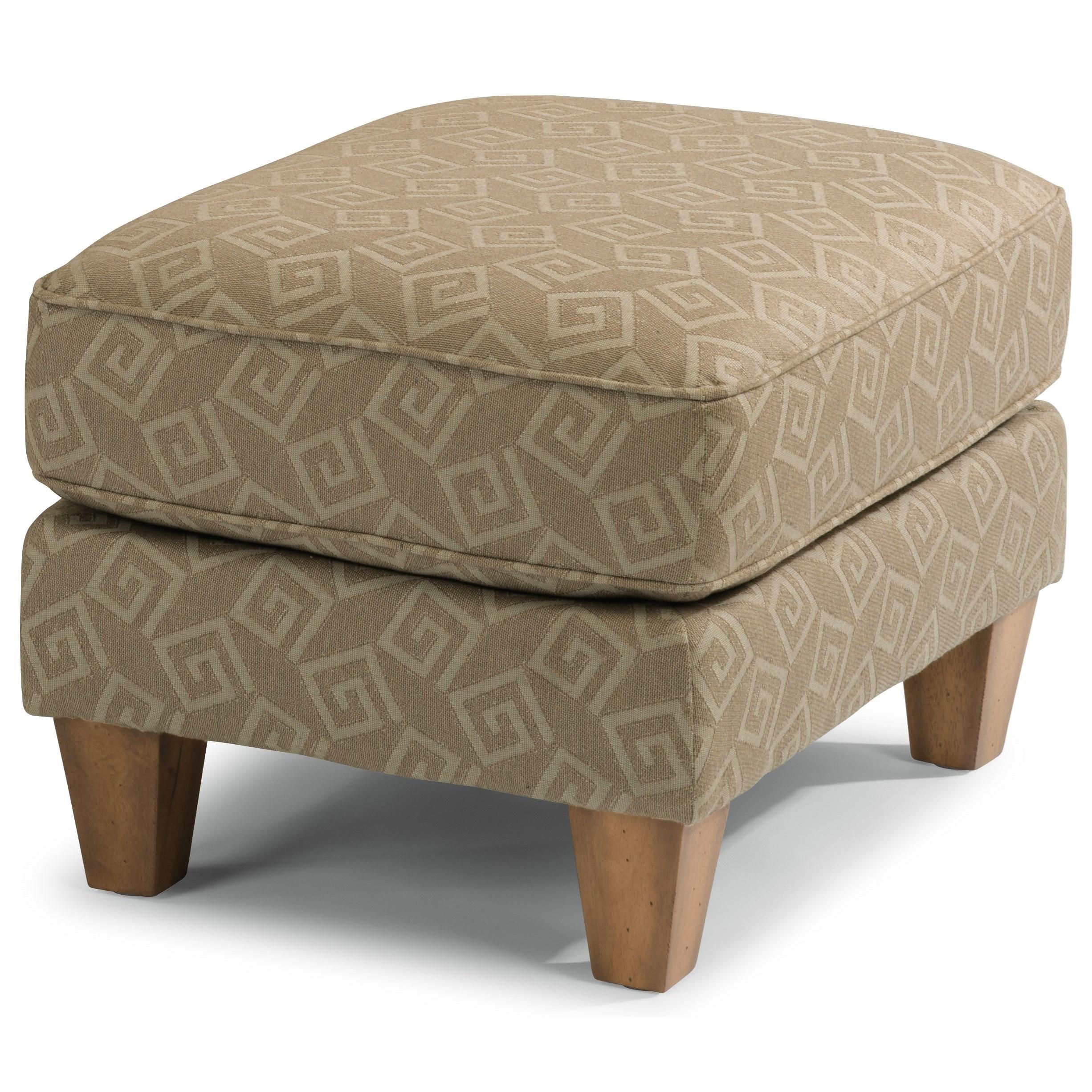Flexsteel Westside Sofa Reviews: Flexsteel Westside Casual Style Ottoman