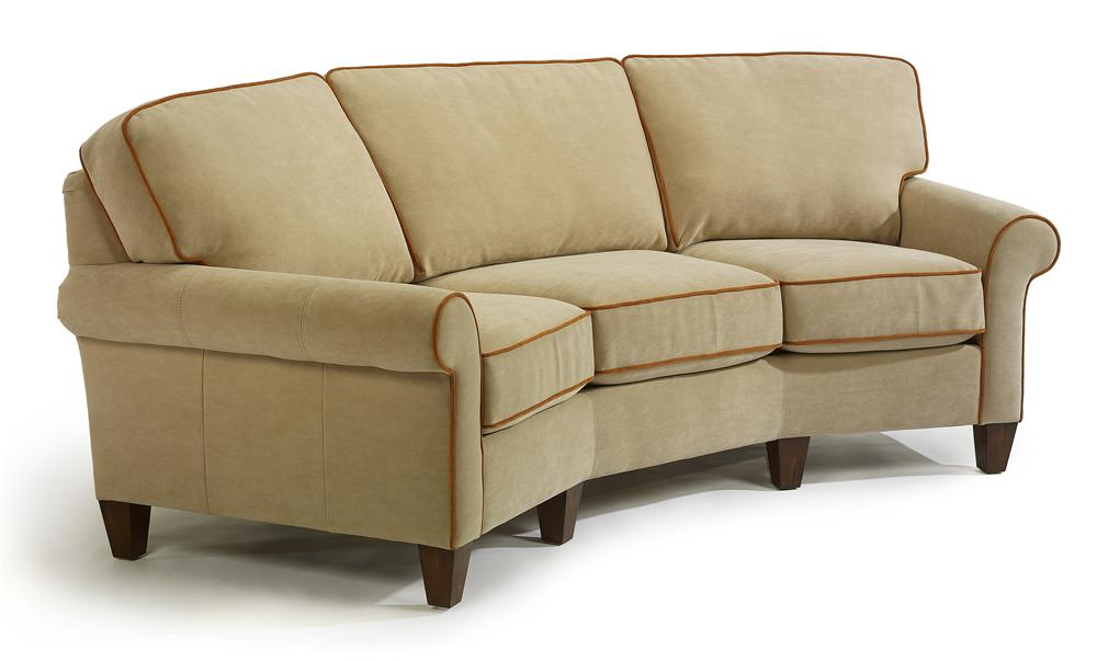 Westside Casual Style Conversation Sofa By Flexsteel