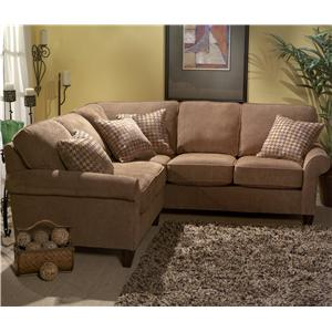 Flexsteel Westside 2 Pc Sectional Sofa : flexsteel sectional leather - Sectionals, Sofas & Couches