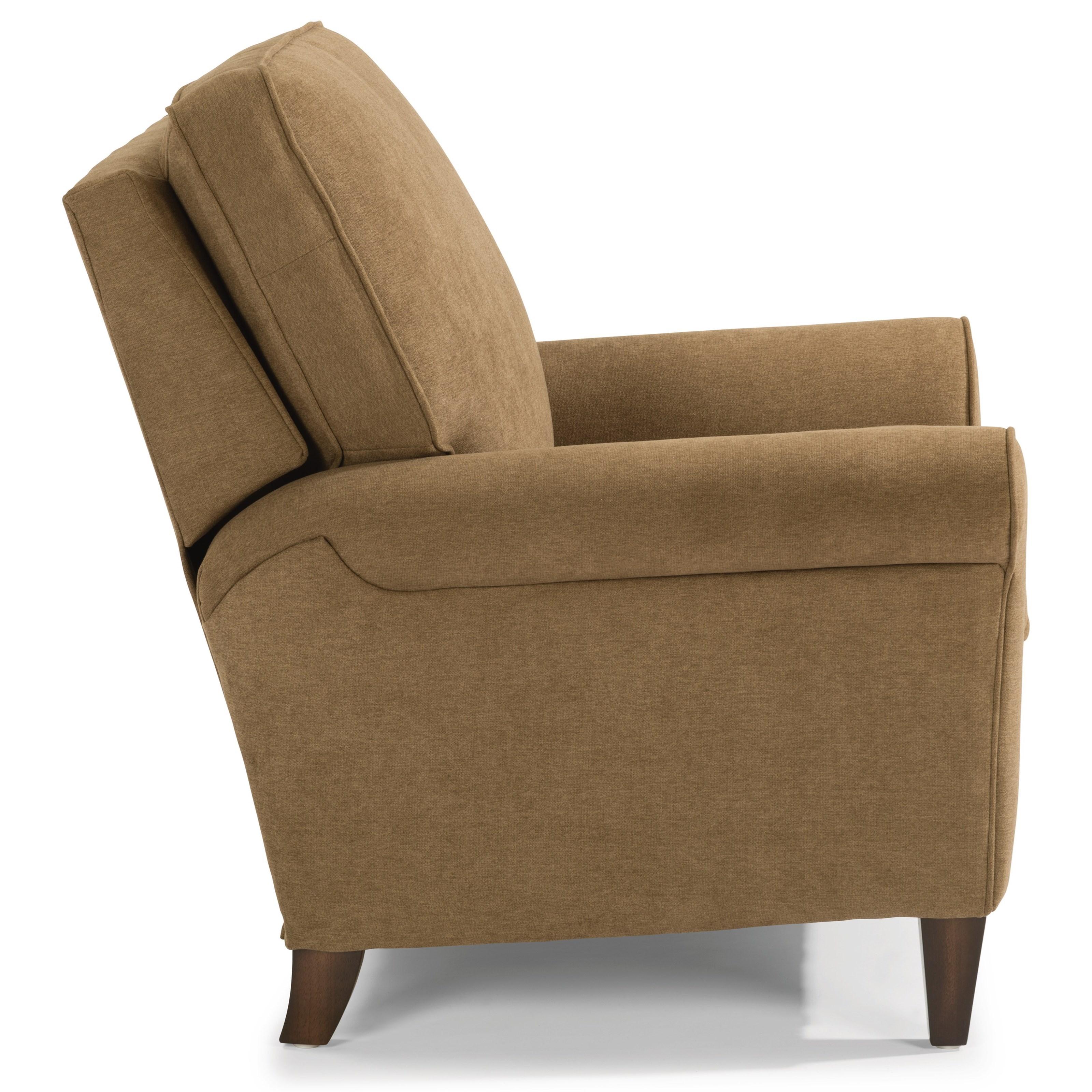 Flexsteel Westside Sofa Reviews: Flexsteel Westside Casual Style High Leg Recliner