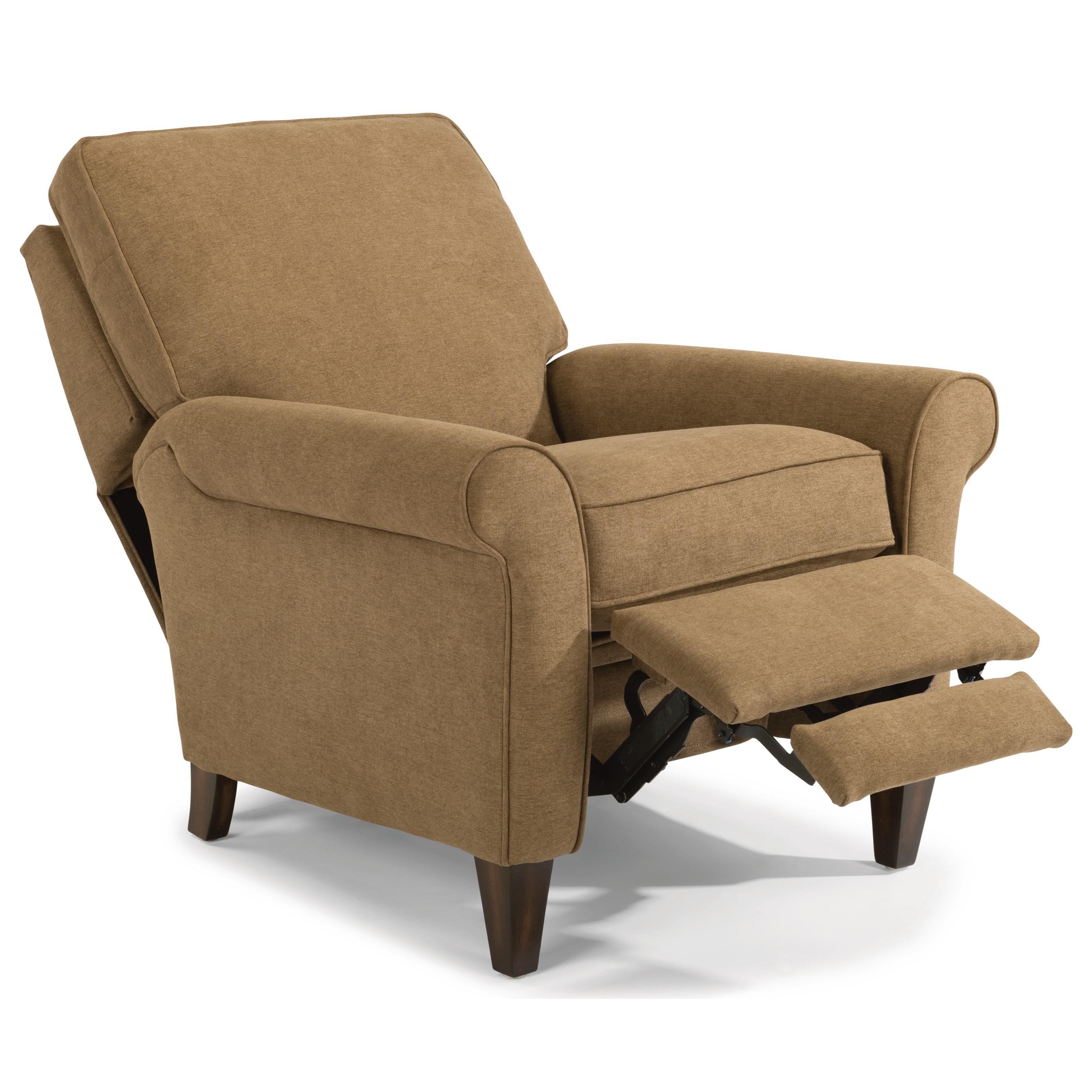 Flexsteel Westside Sofa Reviews: Flexsteel Westside Casual Style Power High Leg Recliner