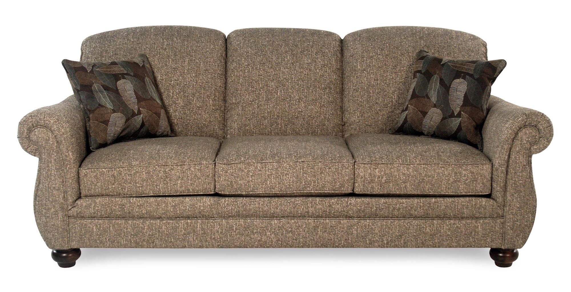 Flexsteel Churchill Three Seat Stationary Sofa Rotmans Sofas
