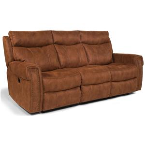 Flexsteel Latitudes - Wyatt - -660344646 Double Reclining Sofa