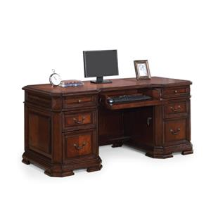 Flexsteel Wynwood Collection Westchester Executive Desk