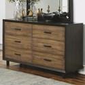 Flexsteel Wynwood Collection Alpine Dresser - Item Number: W1083-860